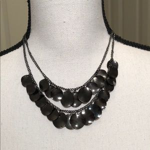 Jewelry - FREE with purchase/Shiny Black Double Row